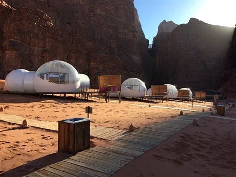 our luxury tent in Wadi Rum Night camp - Picture of Wadi
