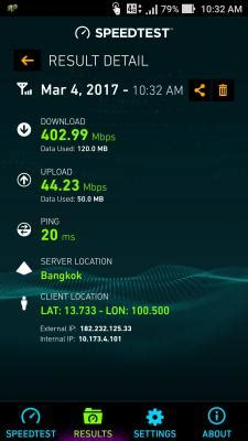 Surprise! LTE-A speed test 400+ Mbps