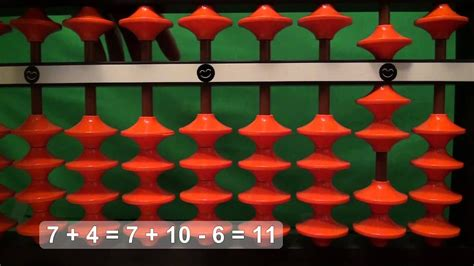 Easy Addition with the Abacus (Soroban): 1 digit + 1 digit