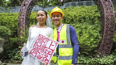 Couple charged with rioting in Hong Kong extradition bill