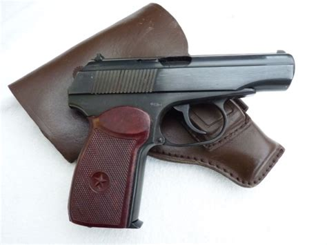 Deactivated Bulgarian PM Makarov 9mm automatic pistol with
