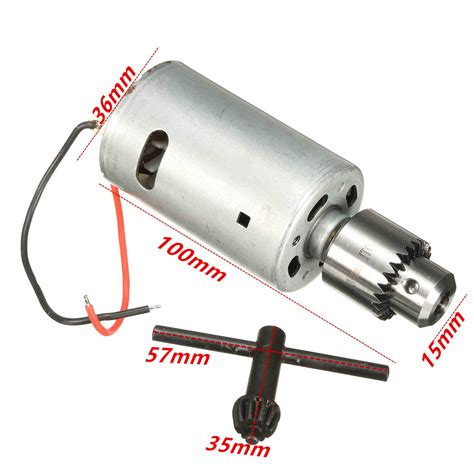 DC 12V-24V 555 Motor For DIY Electric Hand Drill With JT0