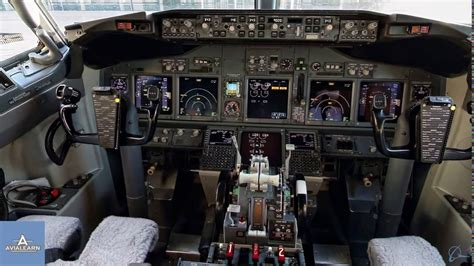 360° Cockpit View Boeing 737 NG - YouTube