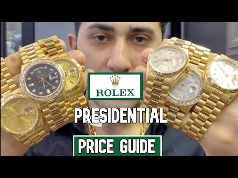 Buy 18ct Rolex President 18038 in superb condition