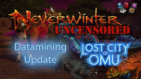 Lost City of Omu Datamining Update: Upcoming ZEN Additions