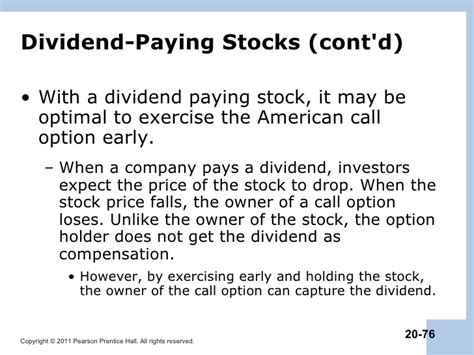 American Option Put Call Parity With Dividends