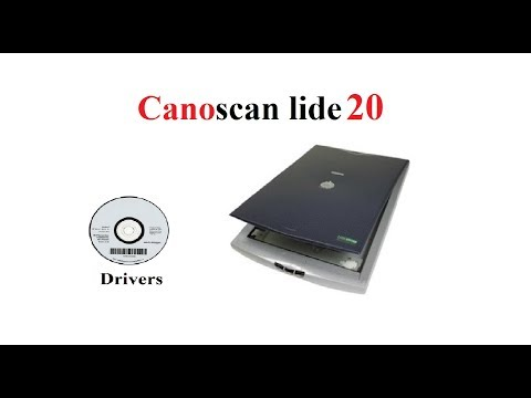 Canon LiDE 20, 25, 30, 35, 60, 100 and 110 Scanner Driver