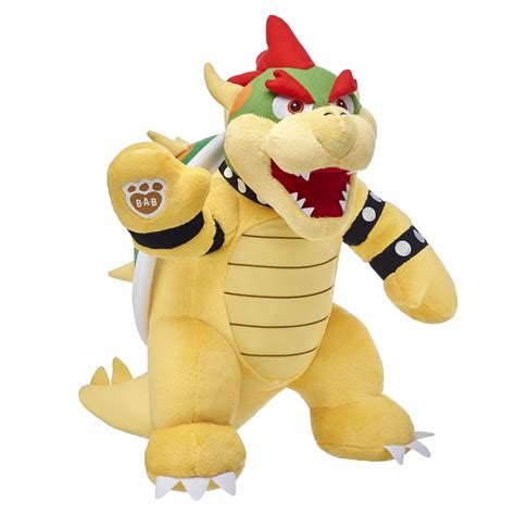 Super Mario Collection now available at Build-A-Bear