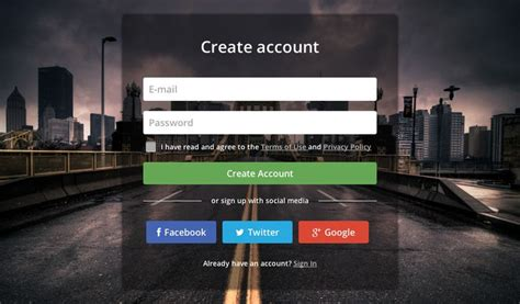Login Page with Blur Background, #Blur, #Buttons, #