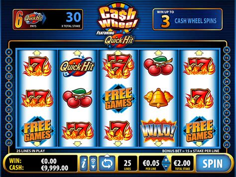 Quick Hit Cash Wheel Slot by Bally - yourfreespins