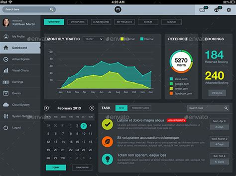22+ Amazing Dashboard Designs That Will Inspire You
