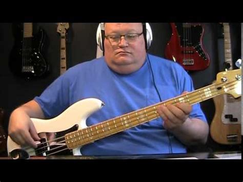 U2 Stuck In A Moment You Can't Get Out Of Bass Cover with