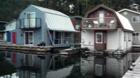 Float Homes Maple Bay Vancouver Island Canada part 1 - YouTube