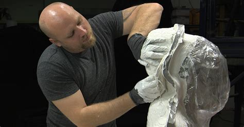 How to Make a Latex Rubber Mask Part 2 - Mold Making and
