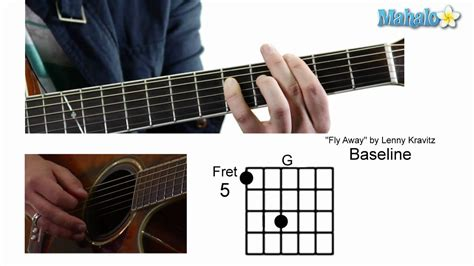 """How to Play """"Fly Away"""" by Lenny Kravitz on Guitar - YouTube"""