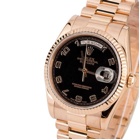 29 Certified Pre-Owned Rolex President watches for Sale