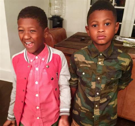 USHER AND NAVIYD ARE MOM'S DJ AND RAPPER