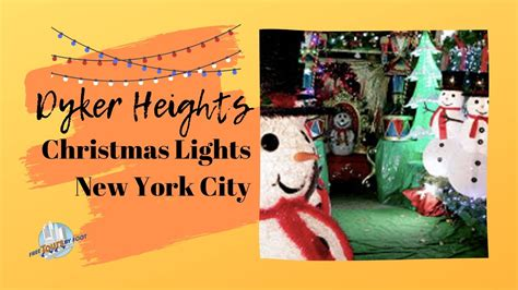 Dyker Heights Christmas Lights Tour - YouTube
