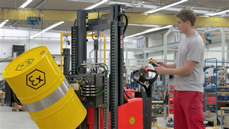 Explosion Protection in Intralogistics | Linde Material