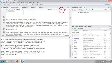 SFS GIS R   RStudio Projects