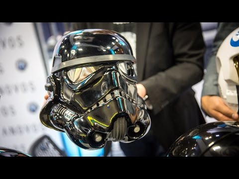 Russia reveals real-life 'Stormtrooper' armour   Daily