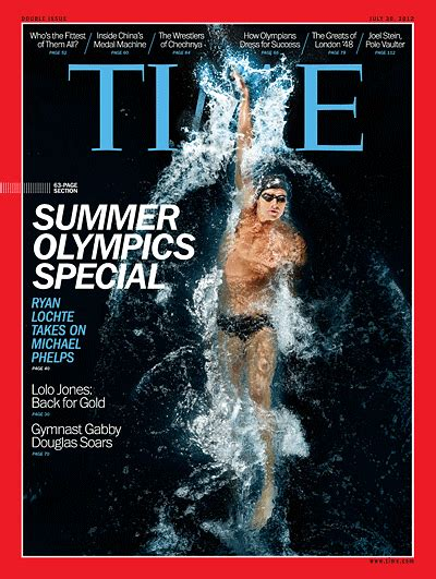 TIME Magazine Cover: Summer Olympics Special - July 30