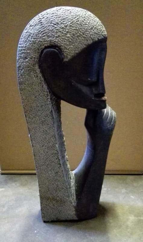 African hand carved Stone sculptures