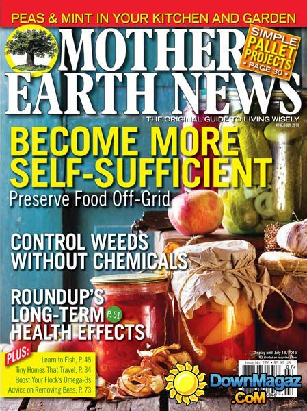 Mother Earth News - June - July 2016 » Download PDF