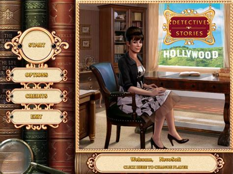 Game Detective Stories: Hollywood