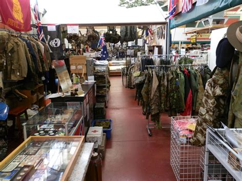 AAA Army Surplus & Collectables on E Shed Market Victoria