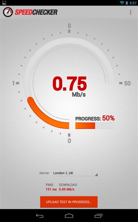 Internet Speed Test 4G, 3G, LTE, Wifi, GPRS - Android Apps