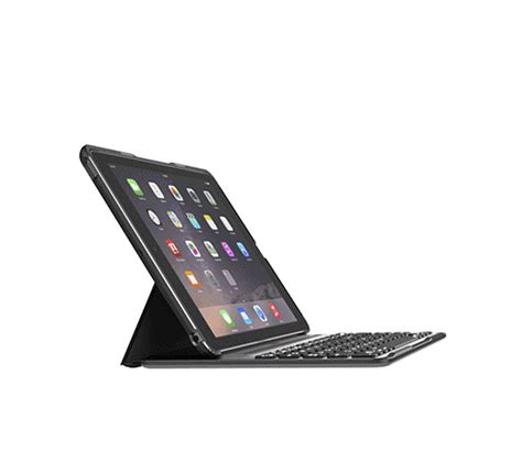 QODE™ Ultimate Pro Keyboard Case for iPad Air 2 (App enabled)