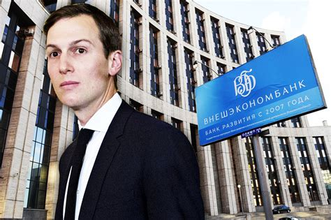 Jared Kushner Tempted by Russia's Bank of Spies