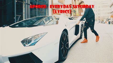 ApoRed - Everyday Saturday (Official Video) [Lyrics] - YouTube