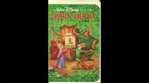 Opening To Robin Hood 1991 VHS - YouTube