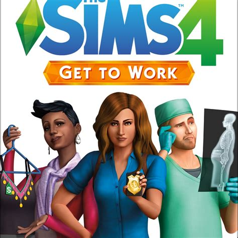 The Sims 4: Get To Work Free Download - GameHackStudios