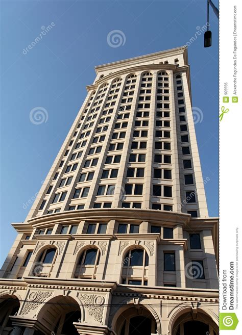 Fancy Building In Sao Paulo Royalty Free Stock Image