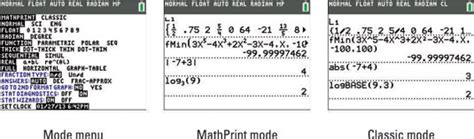 Set the Mode on Your TI-84 Plus Calculator - dummies