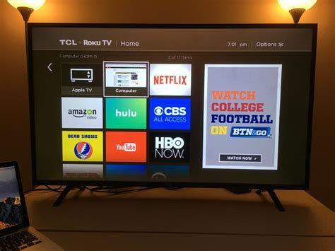 TCL with Roku: A big, bright, cheap smart TV with a nearly