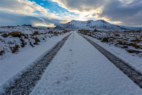Winter Driving In Iceland - Deep Blue Photography
