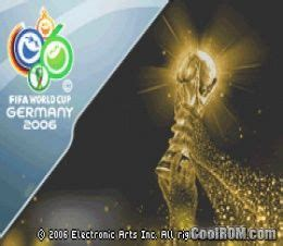 FIFA World Cup 2006 ROM Download for Gameboy Advance / GBA