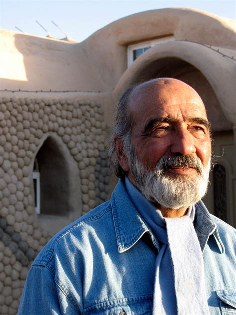 Learn about Nader Khalili, the inventor of the Superadobe