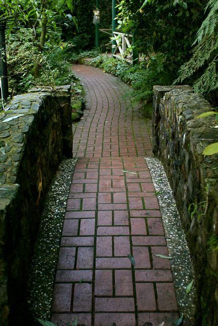 the Red Brick Path by spider lily, via Flickr   Brick path