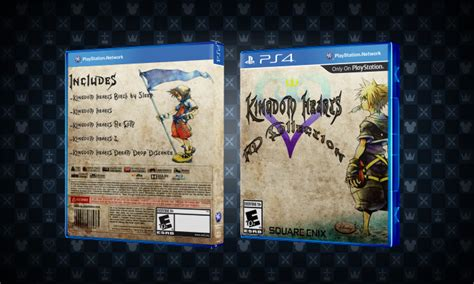 Kingdom Hearts HD Collection PlayStation 4 Box Art Cover