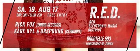 Party - RED - Red Electronic Music District - Bagatelle 93