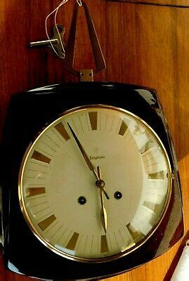JUNGHANS Wall Clock Art Deco with percussion W274/210 a-3