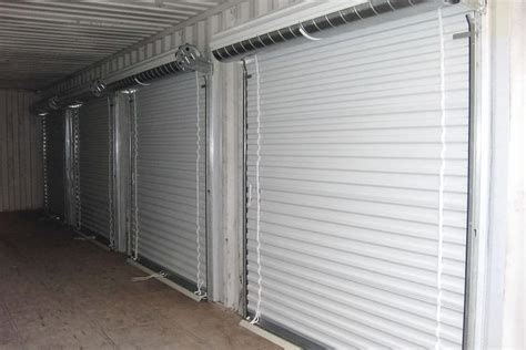 Container roll up doors   ATS Containers