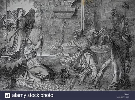 Faust visiting Gretchen in Prison