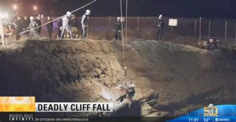 Man distracted by electronic device falls off cliff, dies