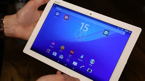 Xperia Z4 Tablet: Sony takes on Apple iPad Air 2 with QHD